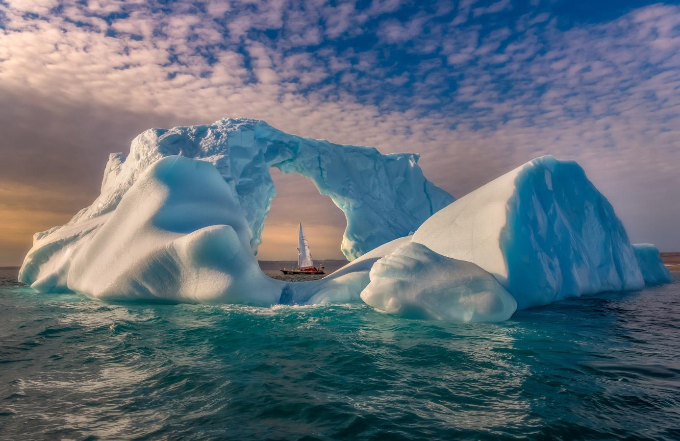 Мираж, затерянный во льдах, © Дмитрий Моисеенко / Dmitry Moiseenko, Россия, 3 место в номинации «Пейзаж — день», Фотоконкурс 35AWARDS — 100 Best Photos