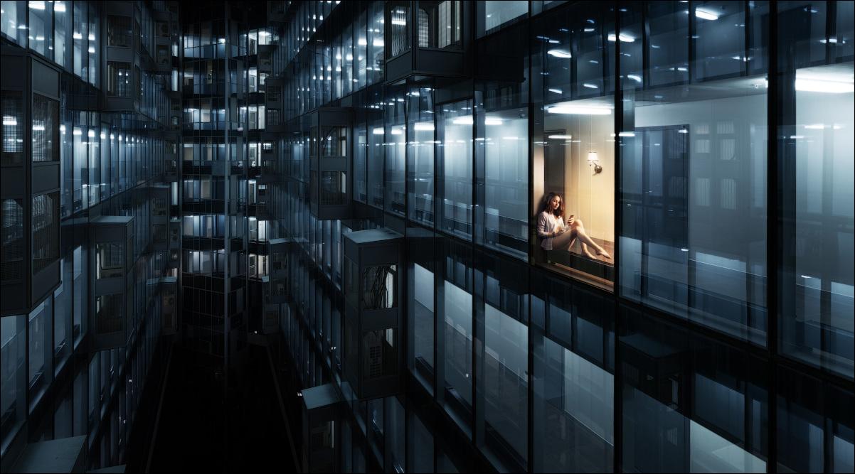В стеклянном замке, © Иван Турухано / Ivan Turukhano, Россия, 2 место в номинации «Городской пейзаж», Фотоконкурс 35AWARDS — 100 Best Photos