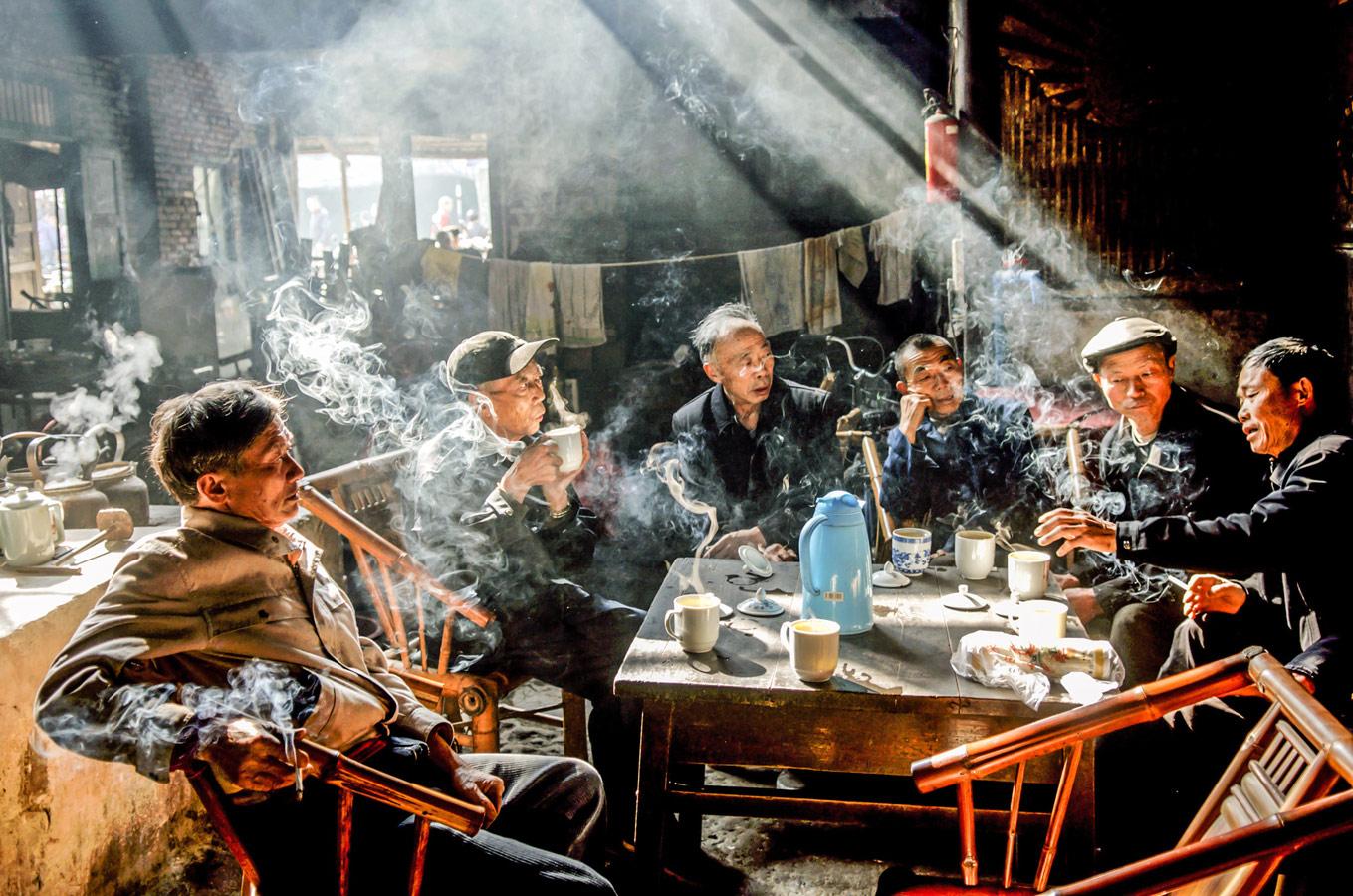 Чайный дом, © Ли Чанг / Le Chang, США, 3 место в номинации «Уличная фотография», Фотоконкурс 35AWARDS — 100 Best Photos