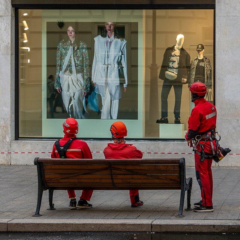 Рекламная пауза. Фото И. Вершининой