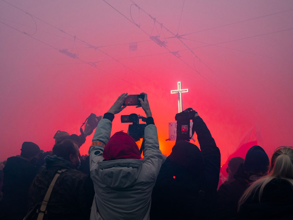 Крест, автор Лукаш Корулчик, Польша