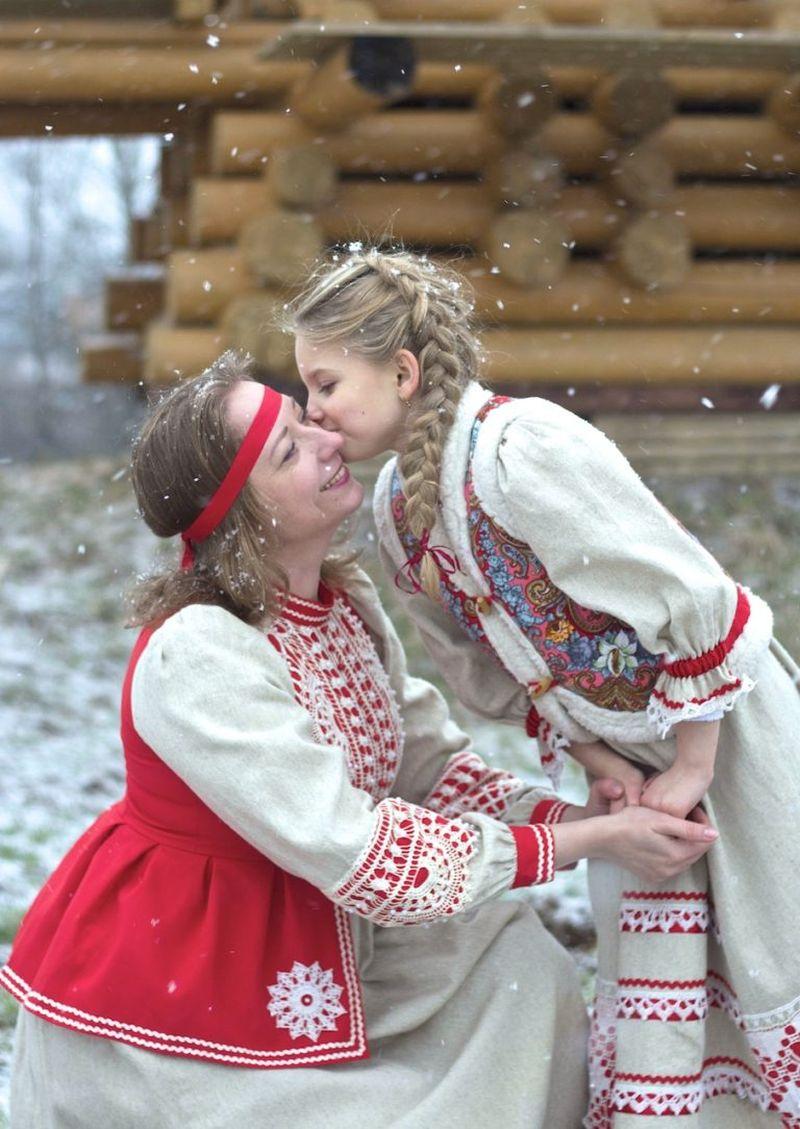 Анастасия Сахарова, Санкт-Петербург, Национальный русский костюм