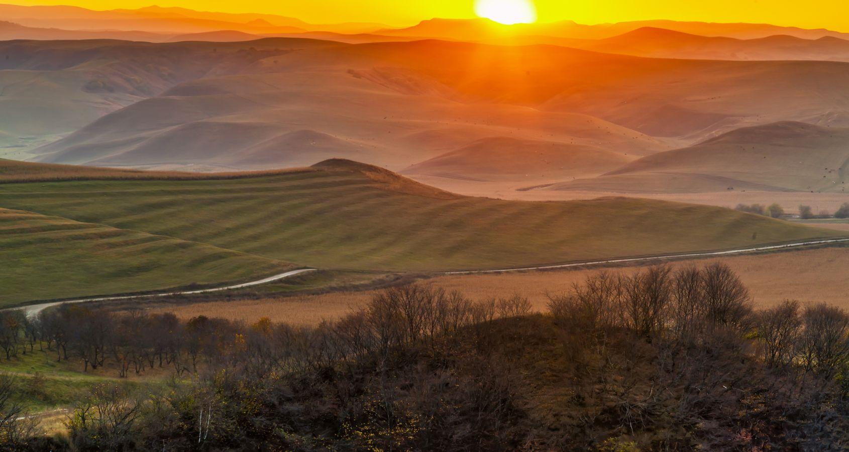 «Закат в Кабардино-Балкарии». Автор: Владимир Иванов