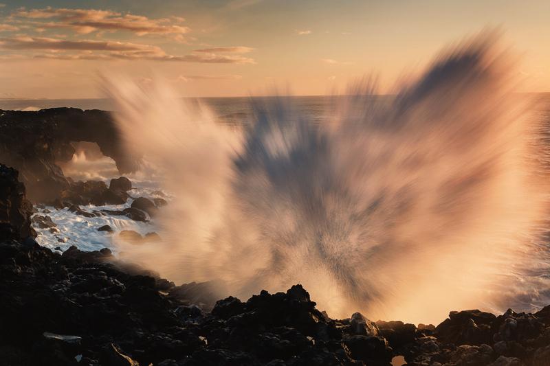 Варнеке Флориан / Warnecke Florian, Германия, Феникс океана, Победитель в категории «Движение воды», Фотоконкурс Glanzlichter