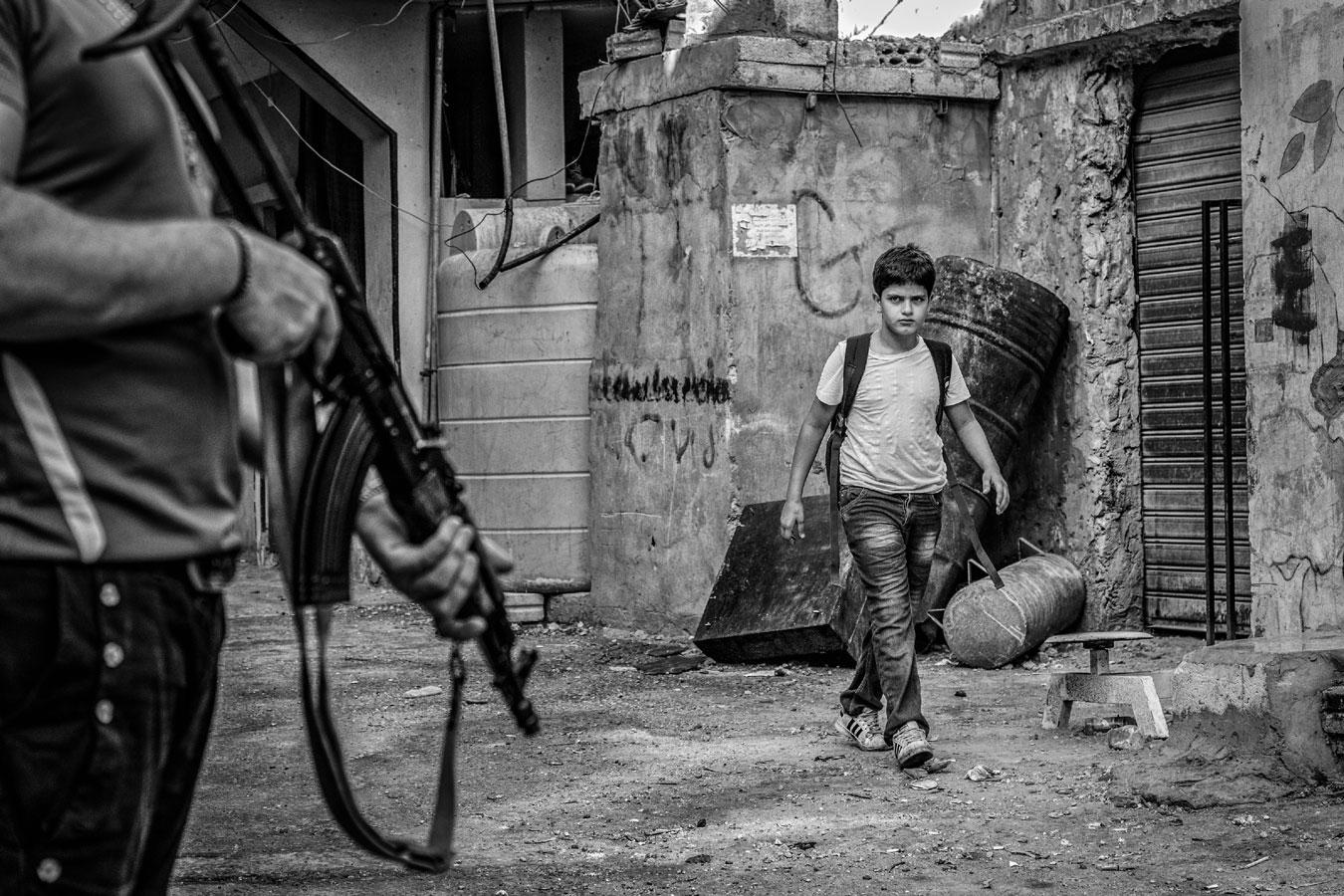 Знание — самое мощное оружие, © Адель Эль Масри / Adel El Masri, Палестинская территория, 2 место в категории «Вызов», Фотоконкурс HIPA