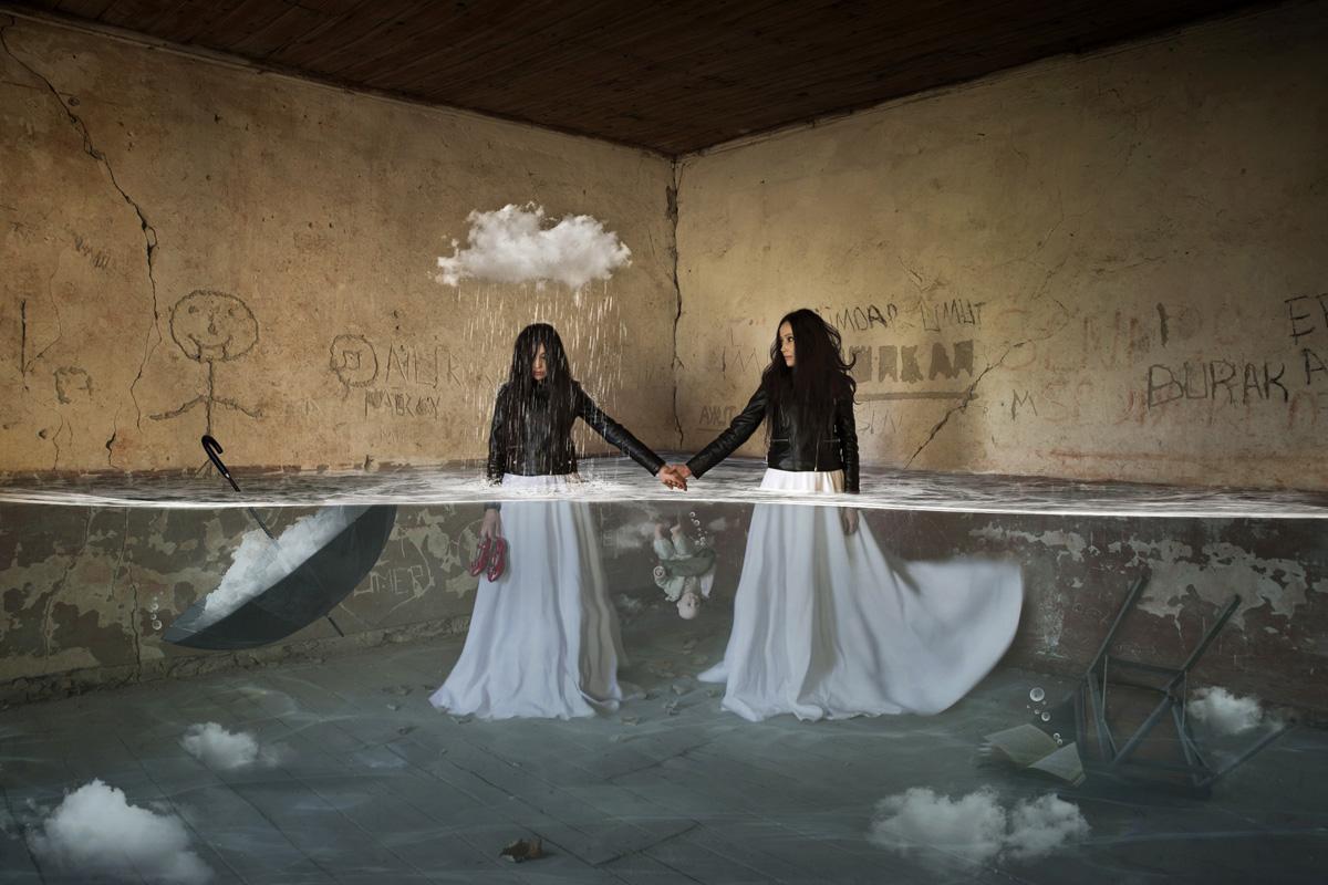 Затопление, © Лейла Эмктар / Leyla Emektar, Турция, 5 место в категории «Цифровая обработка», Фотоконкурс HIPA
