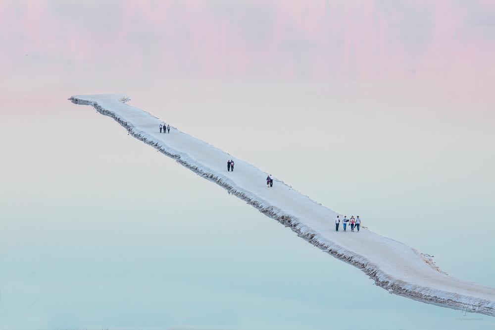 Мертвое море, © Авиад Бар-Несс / Aviad Bar-Ness, Природный Фотограф года, Фотоконкурс International Photography Awards
