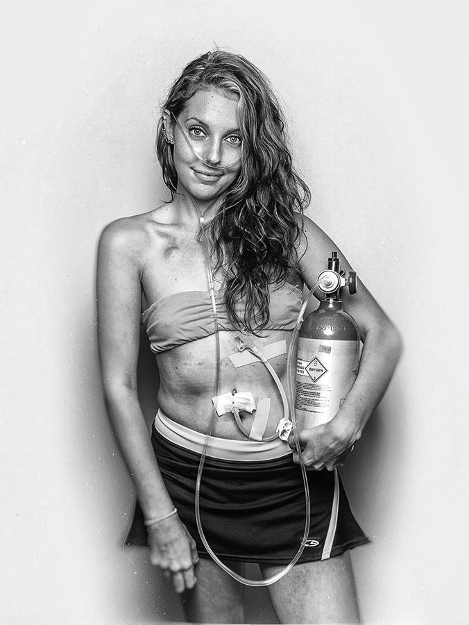 Бейли, © Ян Петтигрю / Ian Pettigrew, Канада, Победитель категории «Портрет», Фотограф года, Фотоконкурс Monochrome Photography Awards