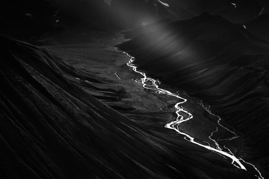 Начало, © Самуэль Ферон / Samuel Feron, Франция, Фотограф года в категории «Пейзажи», Фотоконкурс Monochrome Photography Awards