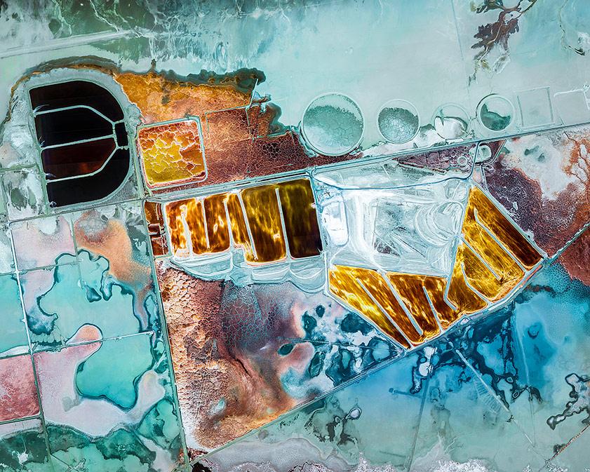 Химические водоёмы, © Кристоф Мартин / Christophe Martin, Франция, Победитель категории «Изобразительное искусство: Абстракция», Фотоконкурс ND Awards Photo Contest