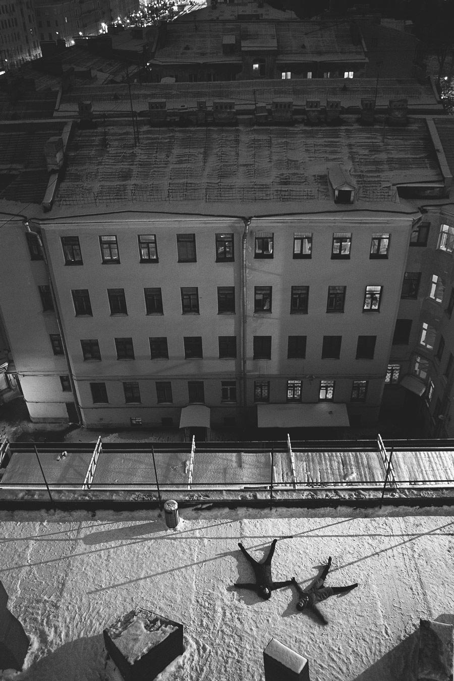 Омар Шакшак, На последнем этаже, 1 место в номинации «Люди», любители, Фотоконкурс Nikon «Я в сердце изображения»