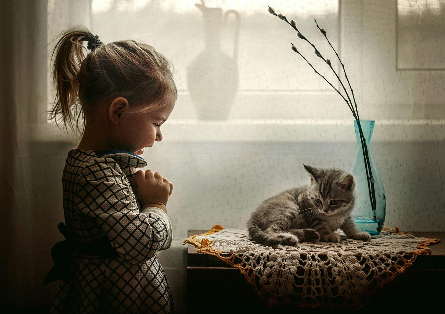Лилия Немыкина, Подарок, 3 место в номинации «Люди», любители, Фотоконкурс Nikon «Я в сердце изображения»