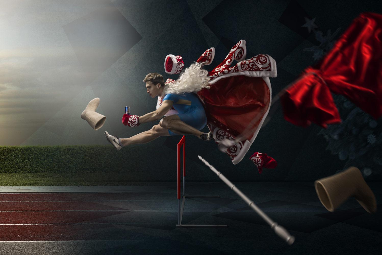 Денис Клеро, Пора на тренировку, 1 место в номинации «Реклама», профессионалы, Фотоконкурс Nikon «Я в сердце изображения»