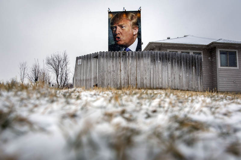 «Iowa Caucus», PatricK T. Fallon/Bloomberg, Кампания 2016, Фотоконкурс POY – Pictures of the Year International