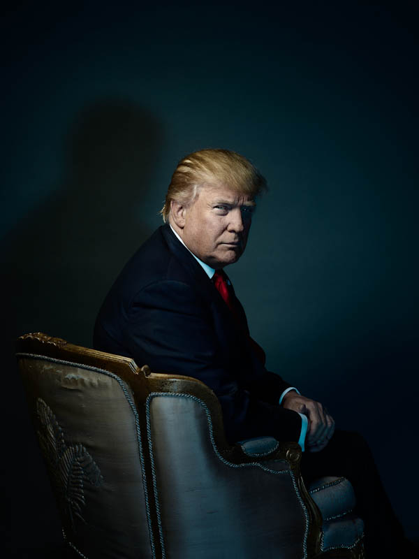 Дональд Трамп, Надав Кандер / Nadav Kander, Таймс, Портрет, Фотоконкурс POY – Pictures of the Year International