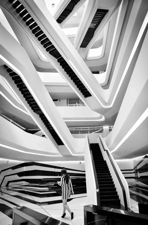 1 место. Филь Екатерина / Зигзаг, Архитектурная фотография, Фотоконкурс «Планета Москва»