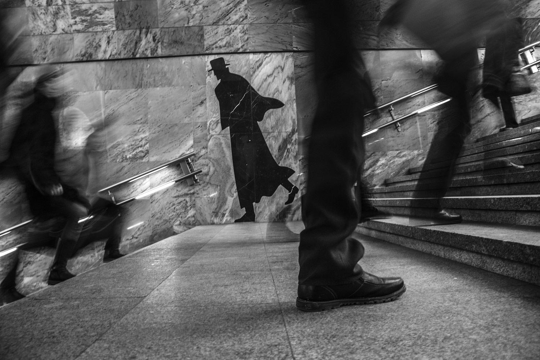 Духовник Денис / Вечный странник, 1 место в категории «Динамика мегаполиса», Фотоконкурс «Планета Москва»