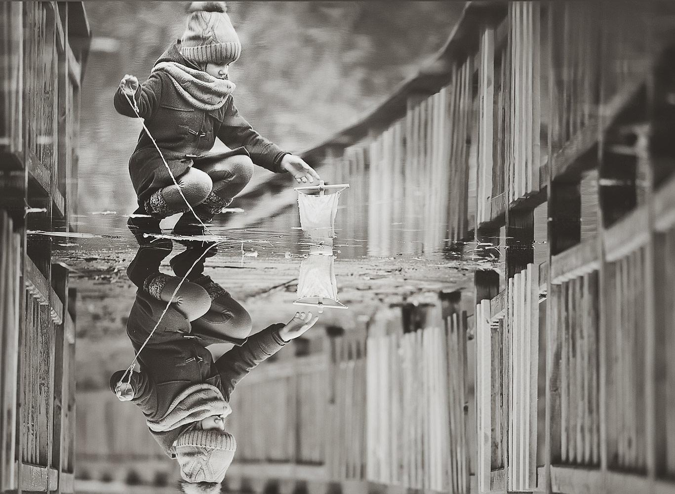 Козлова Елена / Кораблик, 3 место в категории «Москва и москвичи. Комфортный город», Фотоконкурс «Планета Москва»