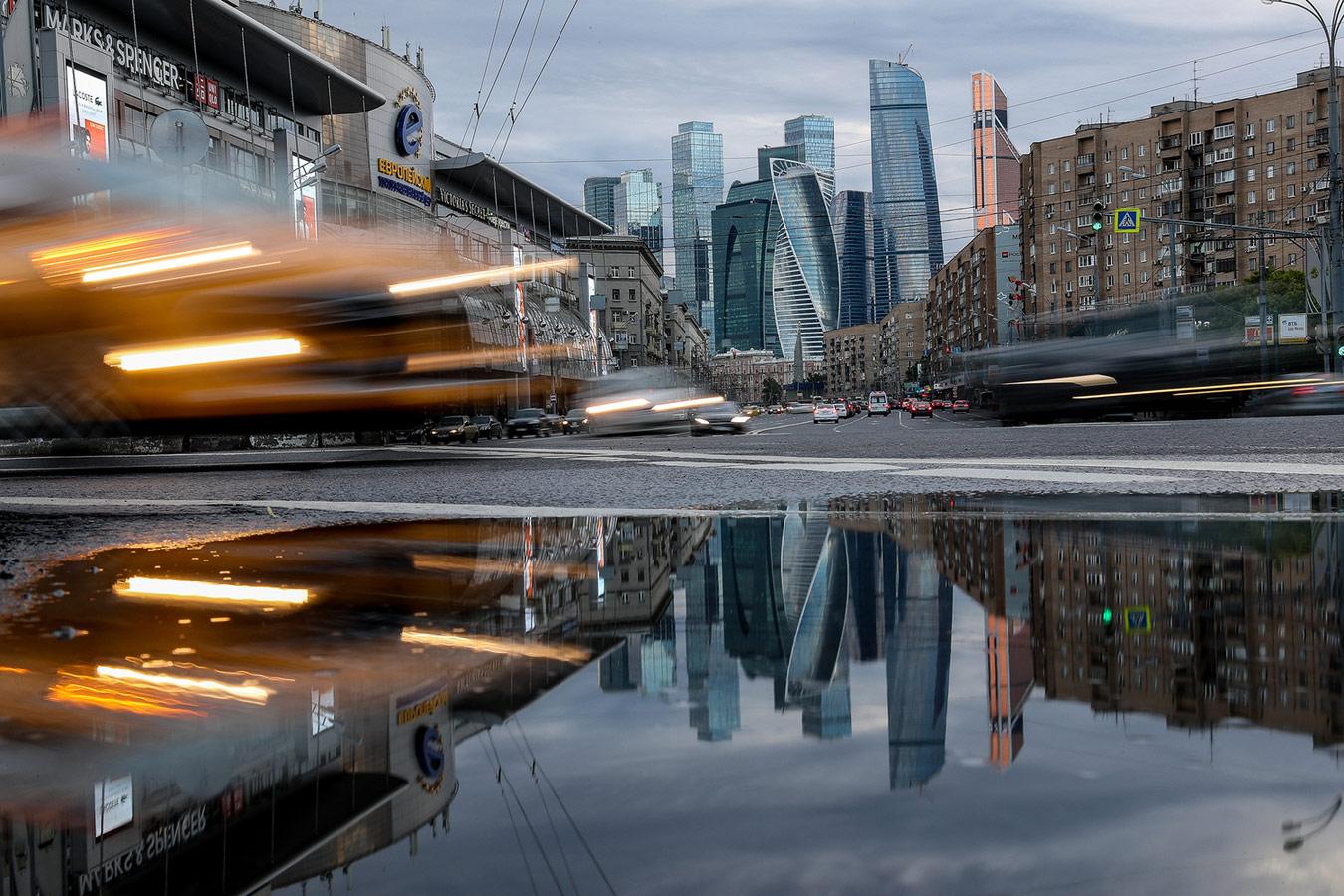 Казаков Александр / Московский ритм, Выбор «Вечерней Москвы», Фотоконкурс «Планета Москва»