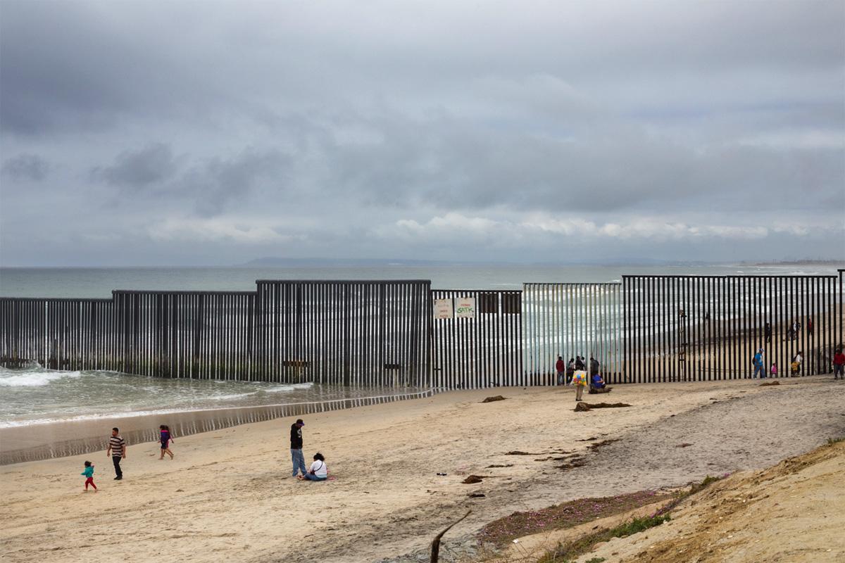 Граница США и Мексики — Пограничная стена, © Гриссельда Сан-Мартин / Griselda San Martin (США), Фотоконкурс Renaissance Photography Prize