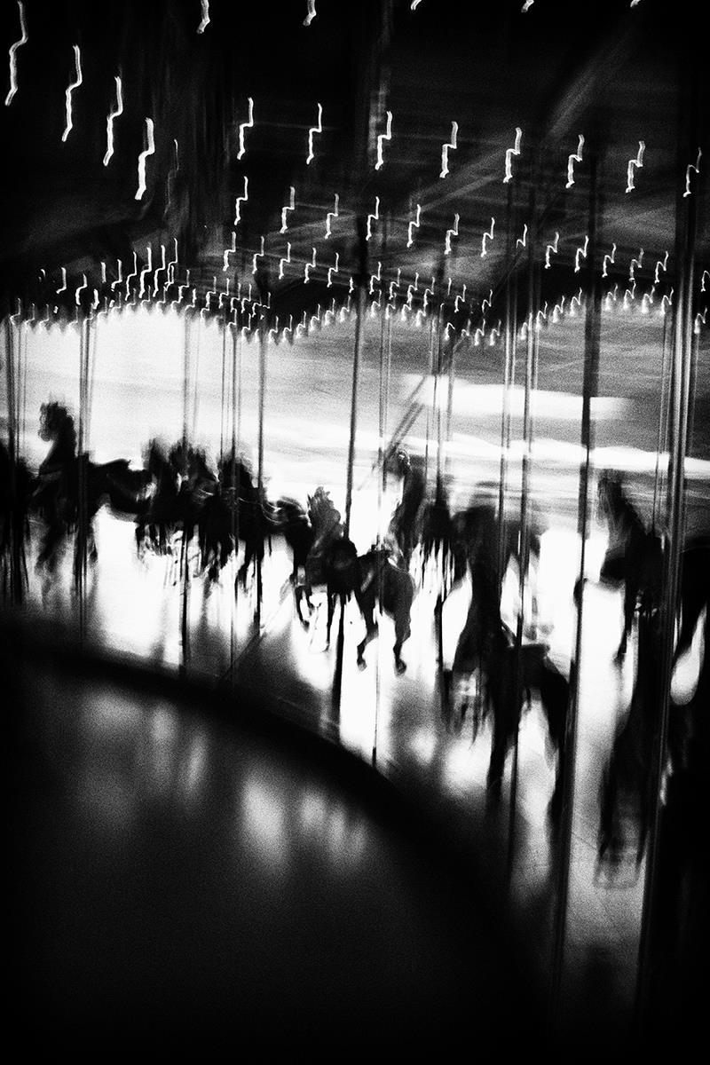 Карусель Raceway, Джо Пуглиси / Joe Puglisi, Нью-Палц, Нью-Йорк, Третья премия, Фотоконкурс Santa Fe Photographic
