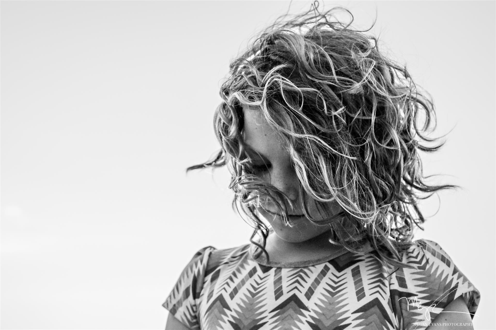 Пляжные волосы, Меган Эванс / Megan Evans, Одентон, Фотоконкурс Santa Fe Photographic