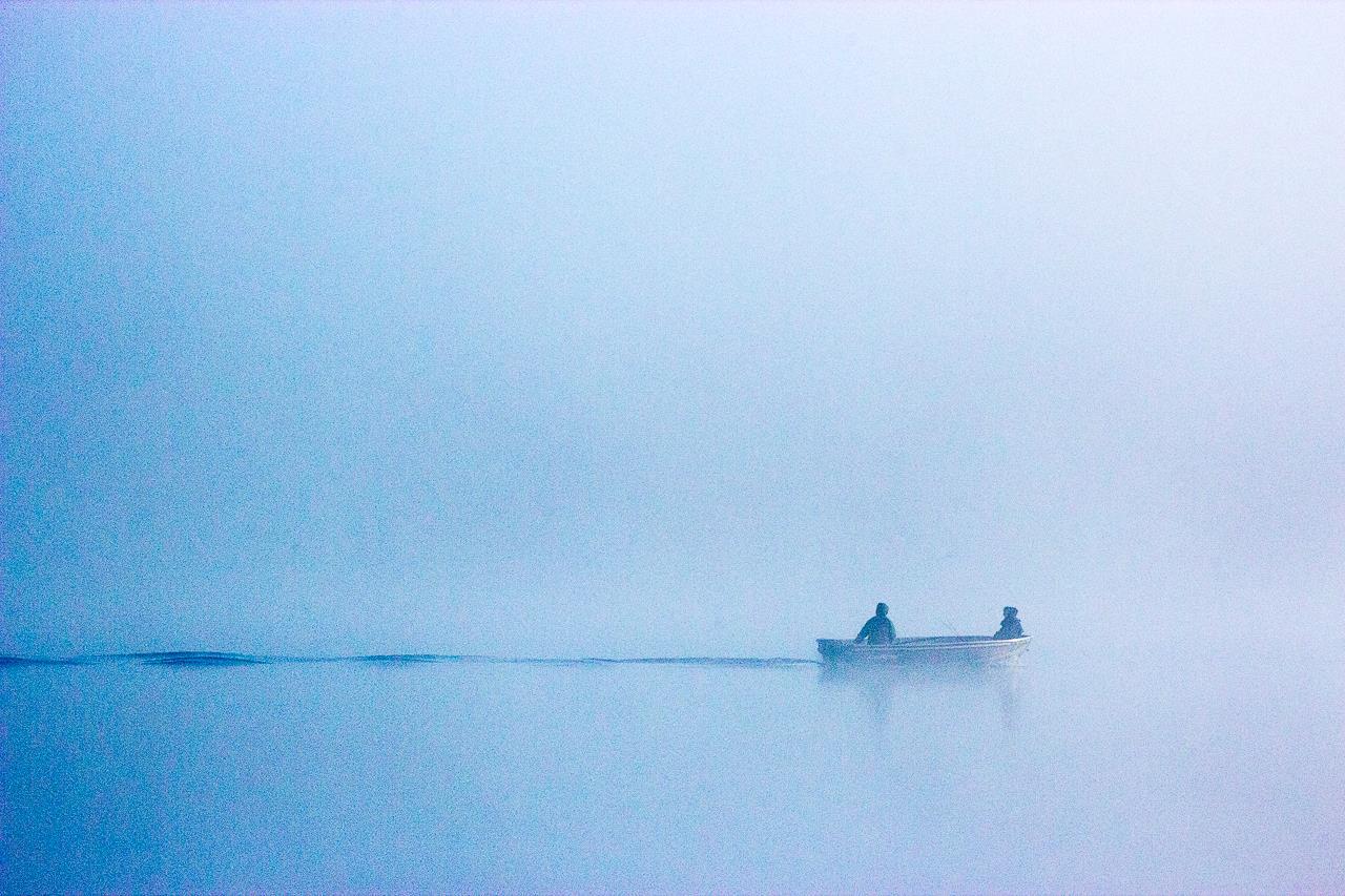 Рыбалка в тумане, Кимерли Миллер / Kimerly Miller, Сент-Пол, Фотоконкурс Santa Fe Photographic