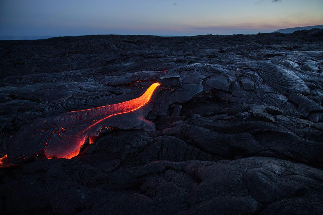 Поток лавы, Дэвид Эллис / David Ellis, Сент-Пол, Фотоконкурс Santa Fe Photographic