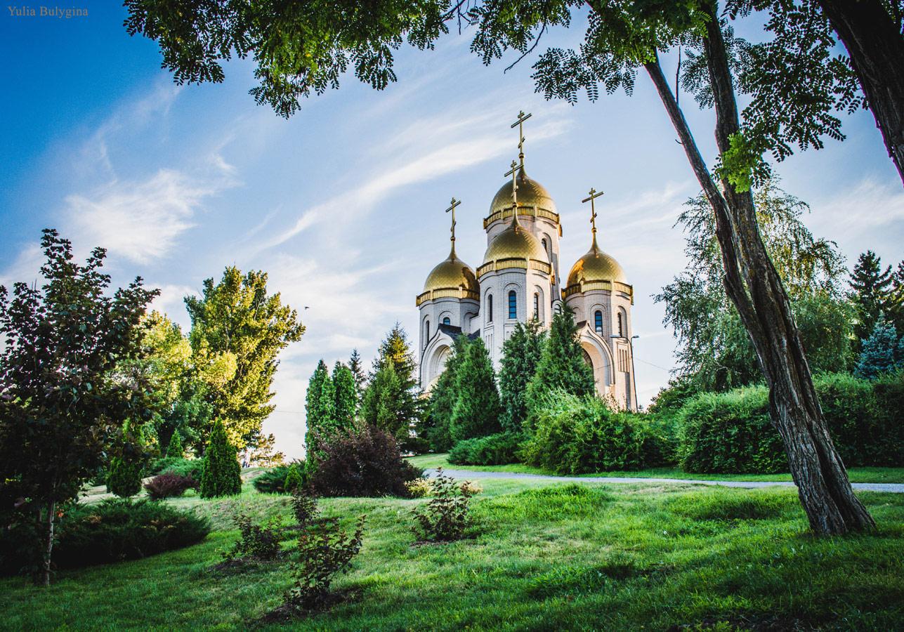 Храм в Волгограде, Юлия Булыгина , Фотоконкурс «Святыня, которая рядом»