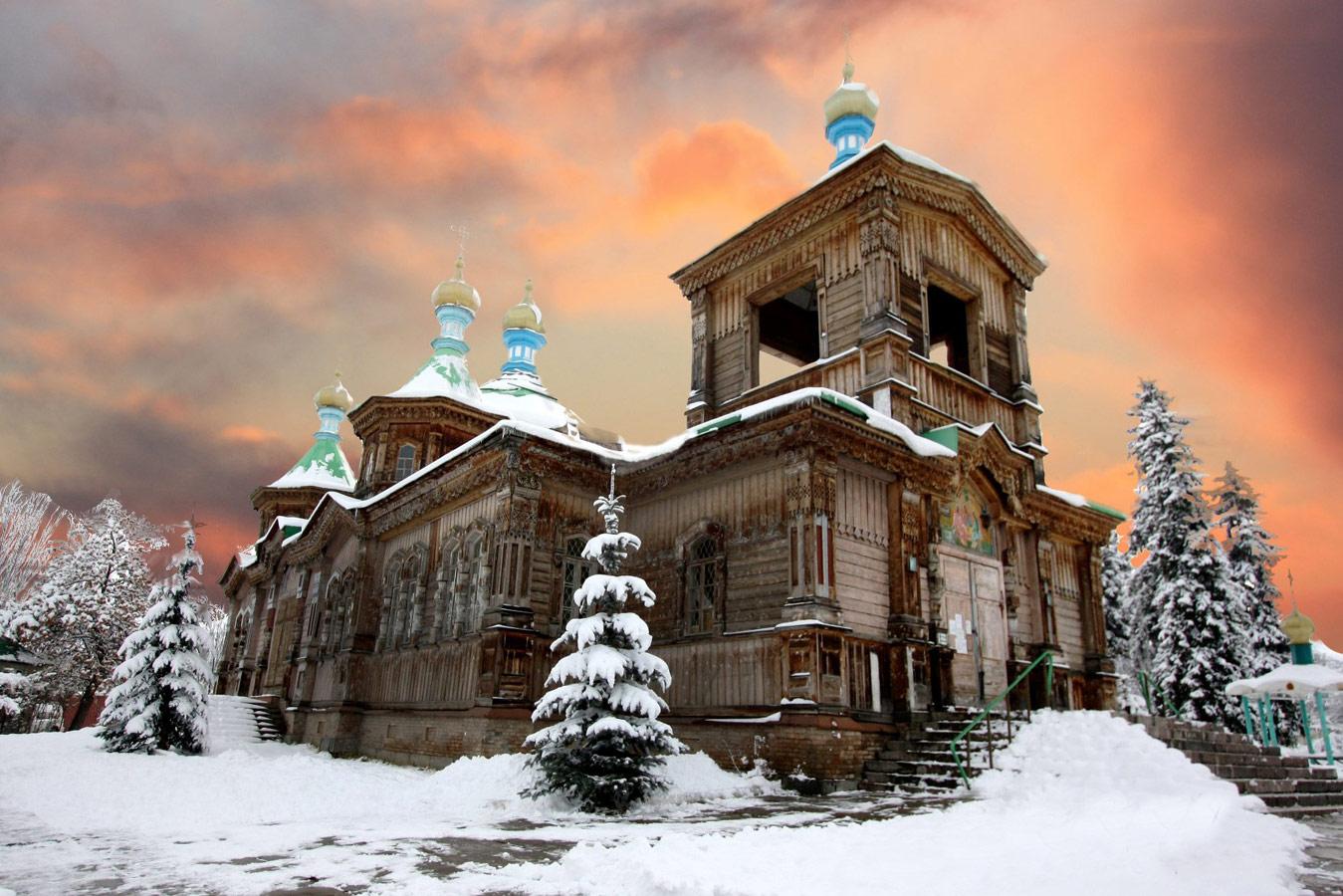 Храм Пресвятой Троицы зимой, Roman Arnold , Фотоконкурс «Святыня, которая рядом»