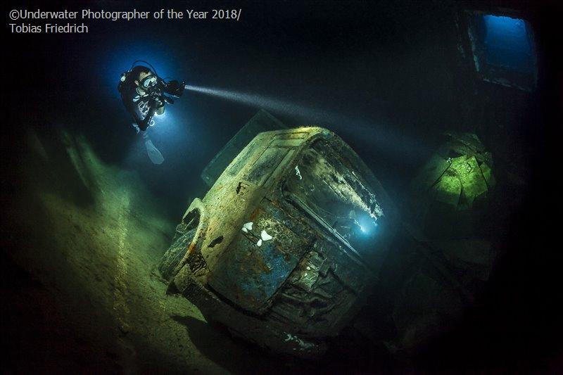 Тобиас Фридрих, Германия / Tobias Friedrich, Germany, 3-е место в категории «Обломки», Фотоконкурс «Подводный фотограф года 2018»