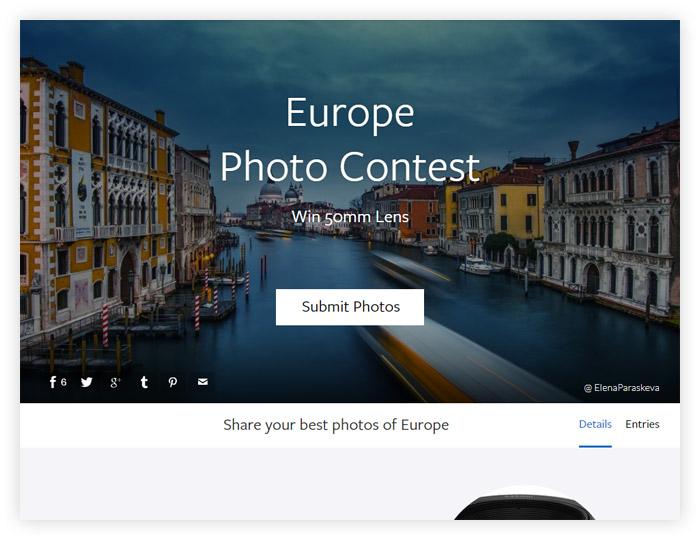 Фотоконкурс Viewbug «Европа»