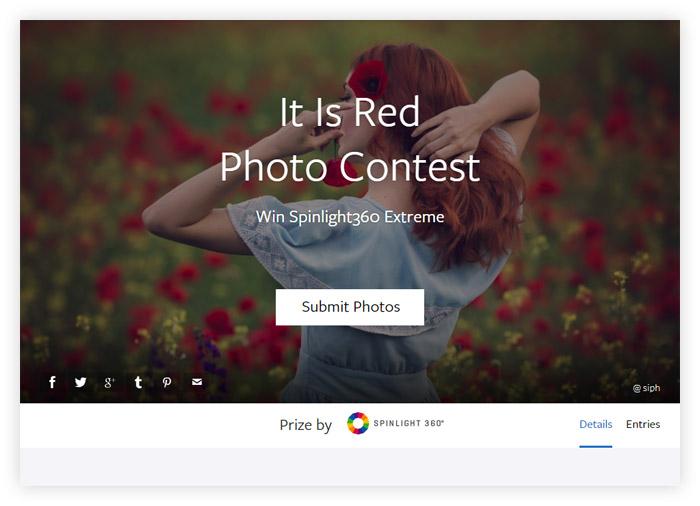 Фотоконкурс Viewbug «Это красное»