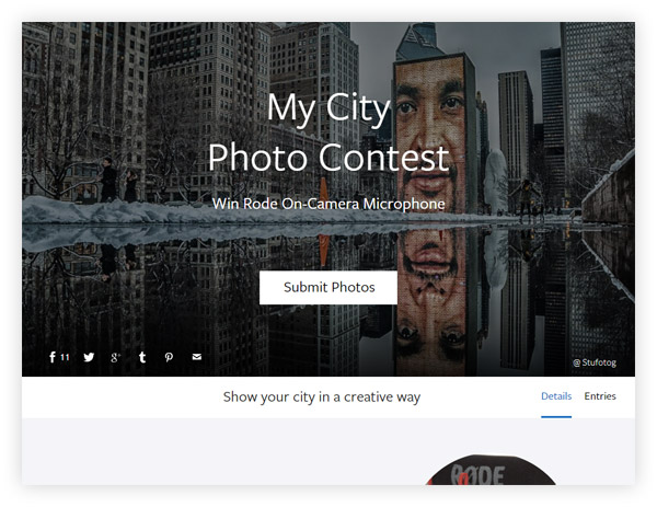 Фотоконкурс Viewbug My City Photo Contest