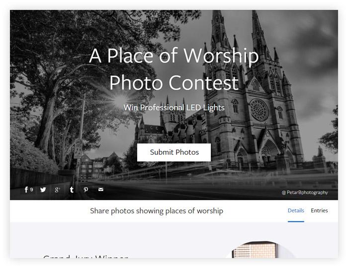 Фотоконкурс Viewbug «Место поклонения»