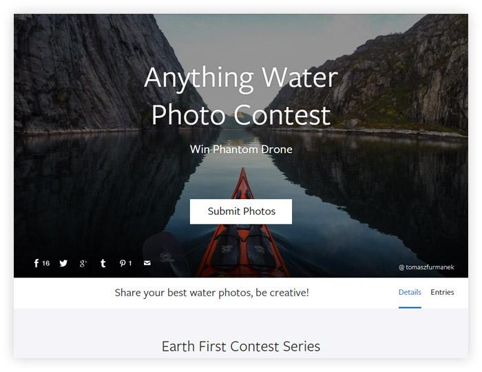 Фотоконкурс Viewbug «Вода»