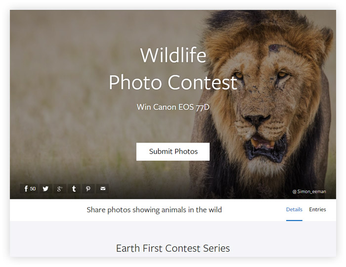 Фотоконкурс Viewbug Wildlife Photo Contest