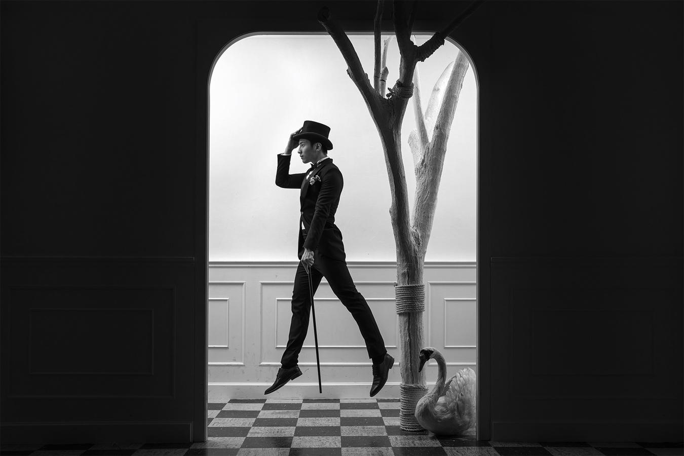 Лено Оой / Leno Ooi, Первое место в категории «Творчество — Жених в одиночестве: День вне свадьбы», Фотоконкурс WPPI Annual Print Competition