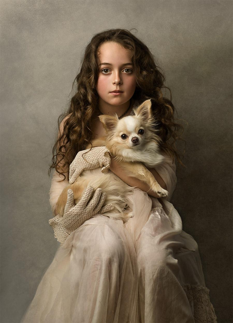 Вики Папас / Vicky Papas, Первое место в категории «Портрет — Дети», Фотоконкурс WPPI Annual Print Competition