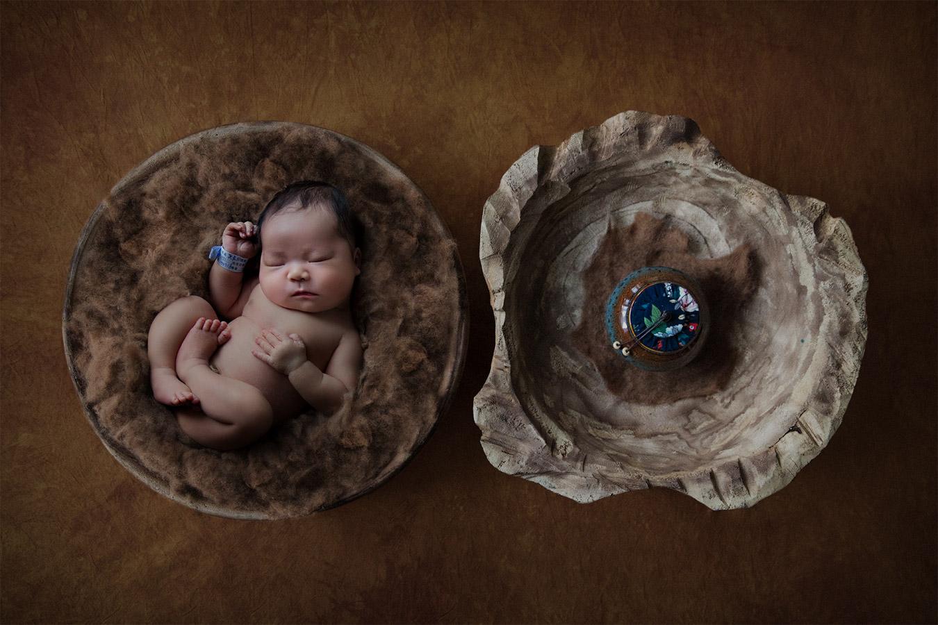 Келли Браун / Kelly Brown, Первое место в категории «Портрет — Новорожденный», Фотоконкурс WPPI Annual Print Competition