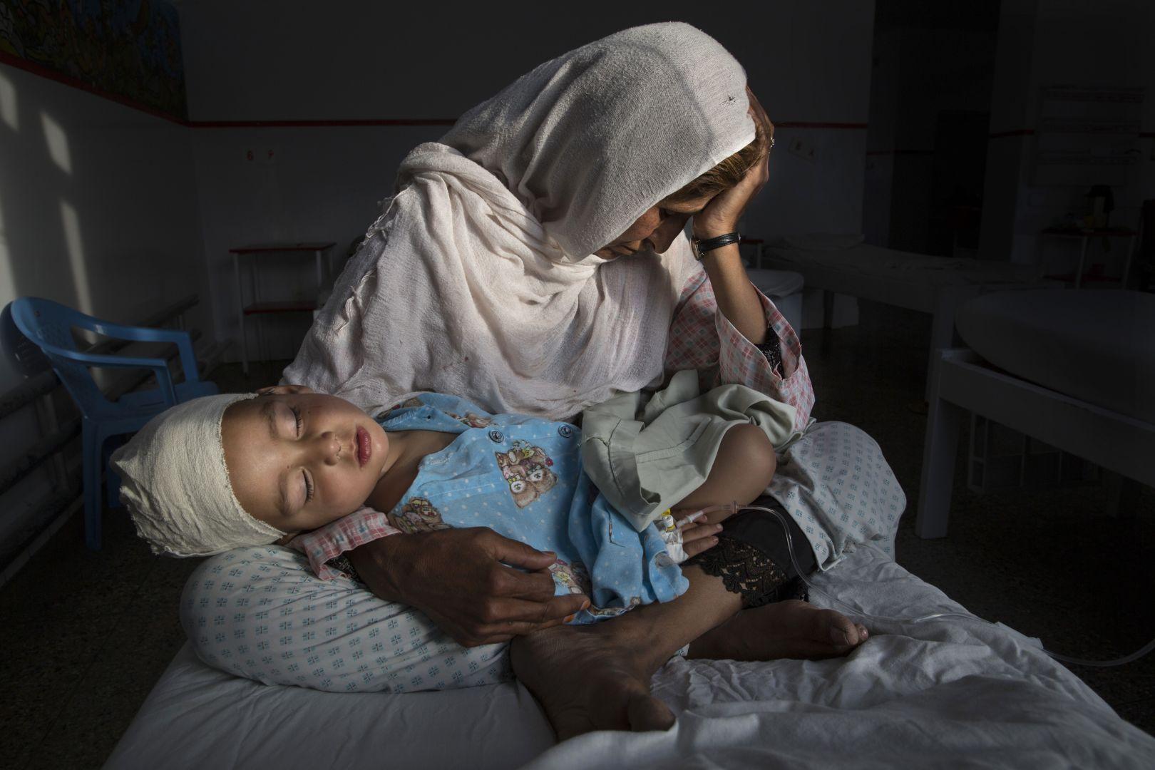 Тихие жертвы забытой войны, © Паула Бронштейн, США, Фотоконкурс World Press Photo
