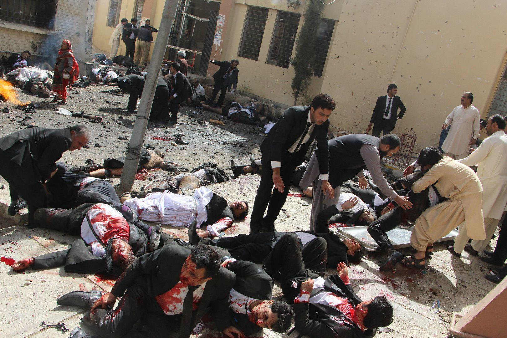 Пакистанский взрыв бомбы, © Джамал Таракай, Пакистан, Фотоконкурс World Press Photo