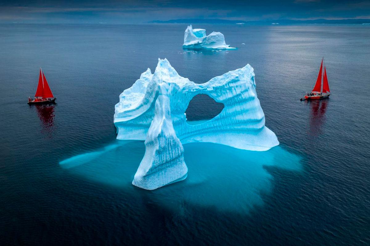 Альберт Дрос, Красота Гренландии