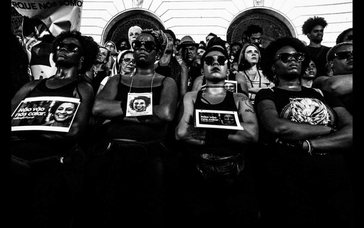 Они не заткнут нас, © Барбара Диас, Бразилия, Конкурс фотографии Allard Prize