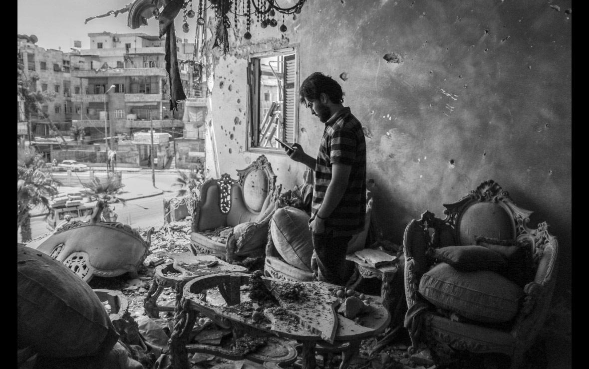 Мой дом в Алеппо, © Луи Баракат, Сирия, Конкурс фотографии Allard Prize