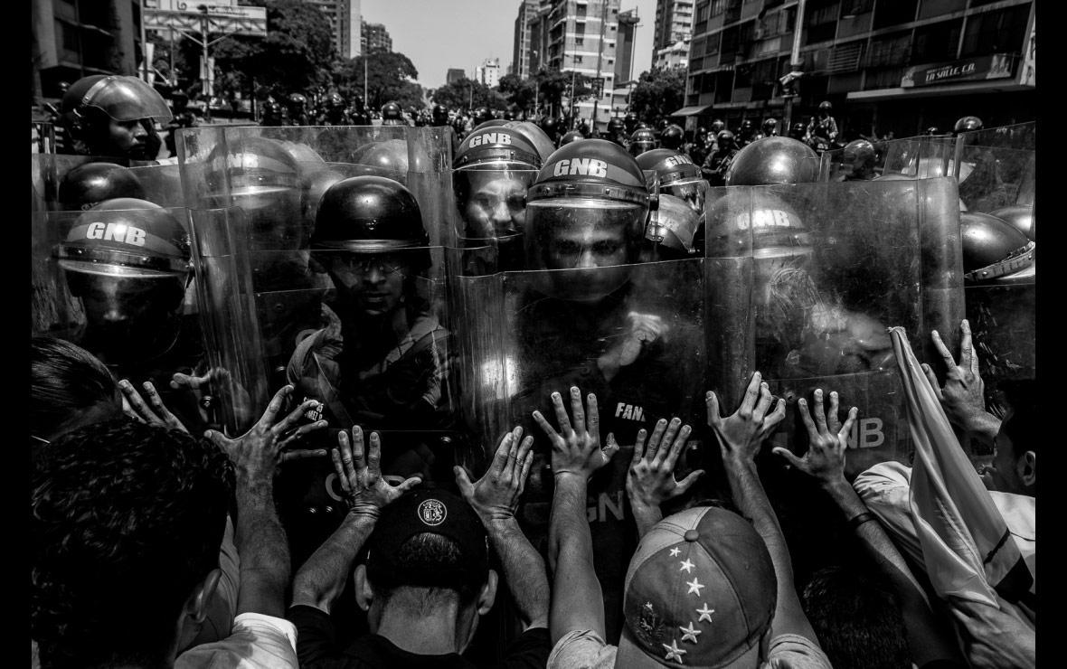 Сопротивление, © Horacio Siciliano, Венесуэла, Конкурс фотографии Allard Prize