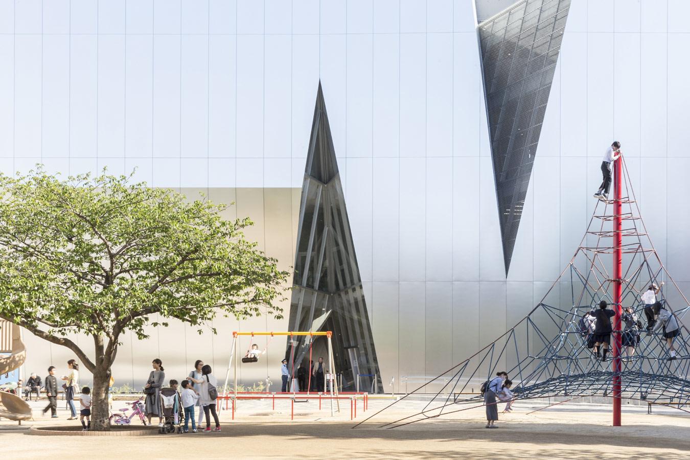 © Лауриан Гинитою (Laurian Ghinitoiu), Музея Сумида Хокусая в Токио (Япония). Архитектор: Kazuyo Sejima, Конкурс «Архитектурная фотография»