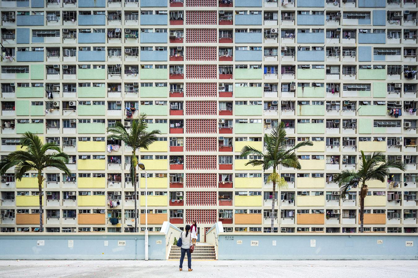 © Фабио Мантовани (Fabio Mantovani), Социальный дом Choi Hung Estate в Гонконге, Конкурс «Архитектурная фотография»
