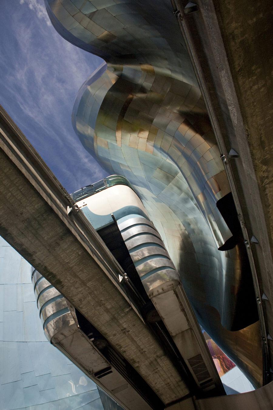© Кончи Мартинес (Conchi Martínez), Музей современной поп-культуры в Сиэтле (США). Архитектор: Frank Gehry, Конкурс «Архитектурная фотография»