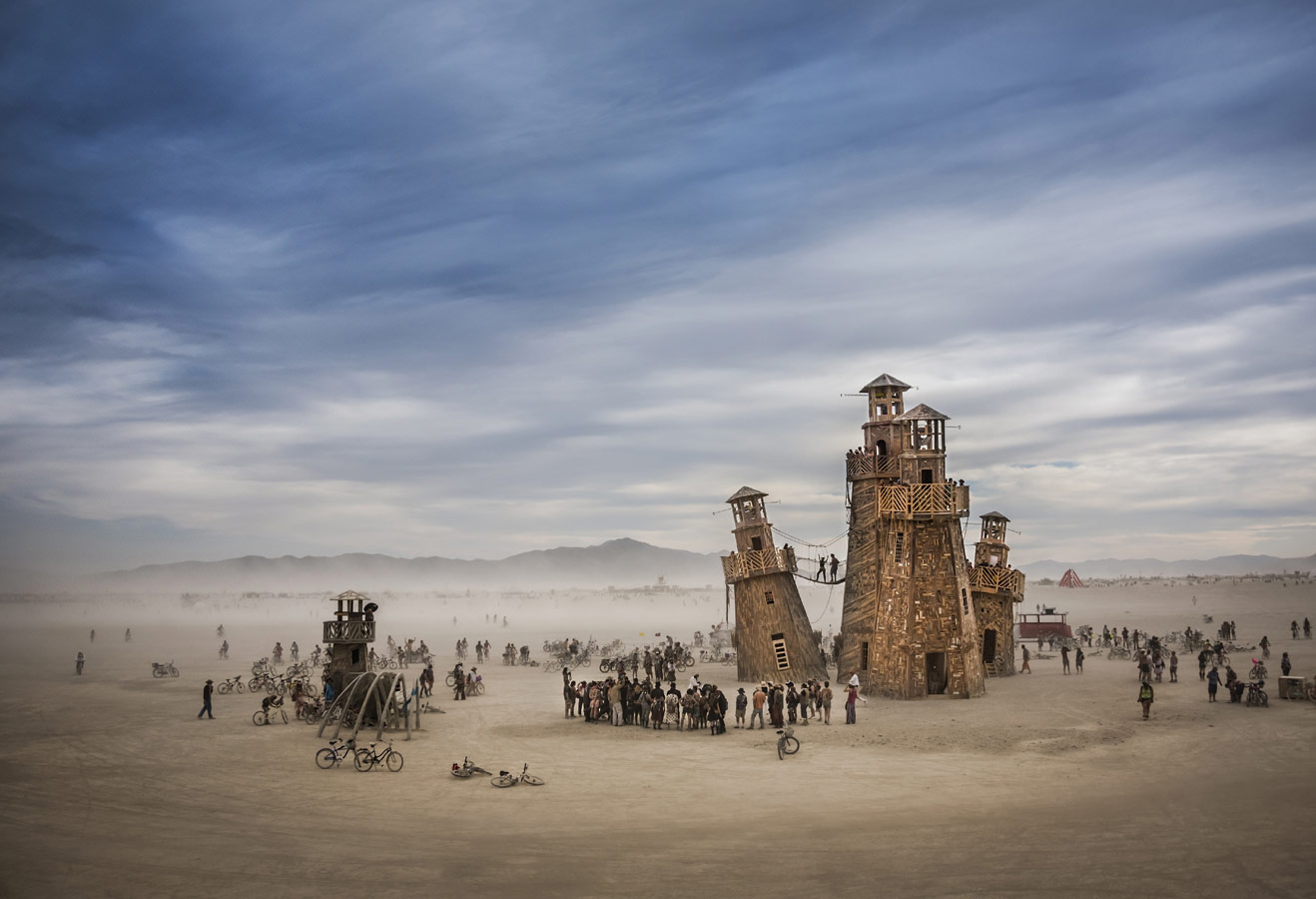 © Том Шталь (Tom Stahl), Служба маяков в Блэк-Рок (пустыня в штате Невада, США), Конкурс «Архитектурная фотография»